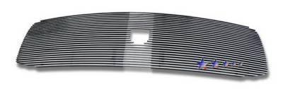 Grilles - Custom Fit Grilles - APS - Dodge Ram APS Billet Grille - with Logo Opening - Upper - Aluminum - D65787A