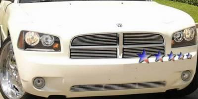 Grilles - Custom Fit Grilles - APS - Dodge Charger APS Billet Grille - Bumper - Aluminum - D66439A