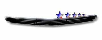 Grilles - Custom Fit Grilles - APS - Dodge Charger APS Black Billet Grille - Bumper - Aluminum - D66439H
