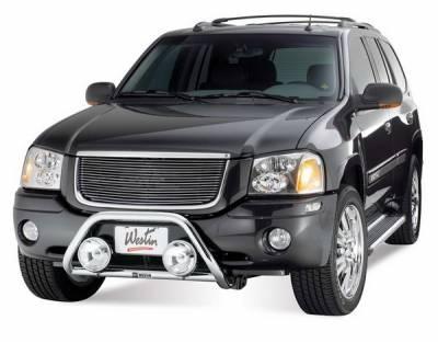 Grilles - Grille Guard - Westin - Chevrolet Trail Blazer Westin Safari Light Bar Mount Kit - 30-1345