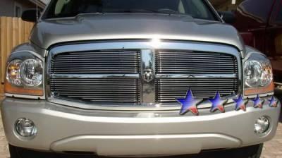 Grilles - Custom Fit Grilles - APS - Dodge Durango APS Billet Grille - Upper - Aluminum - D66444A
