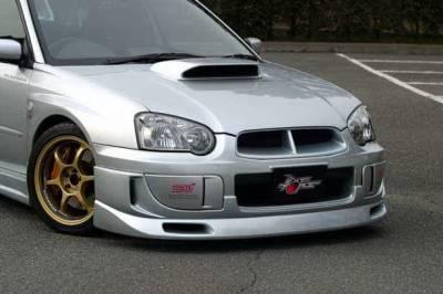 Impreza - Front Bumper - Chargespeed - Subaru Impreza Chargespeed Peanut Eye Latter Front Lip - CS977FL