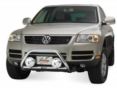 Grilles - Grille Guard - Westin - Volkswagen Touareg Westin Safari Light Bar - 30-1365
