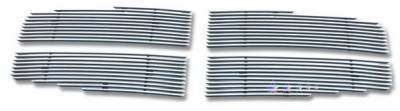Grilles - Custom Fit Grilles - APS - Dodge Durango APS Billet Grille - Upper - Stainless Steel - D66444S