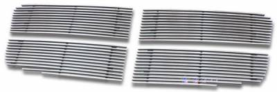 Grilles - Custom Fit Grilles - APS - Dodge Durango APS Billet Grille - Upper - Stainless Steel - D66470S