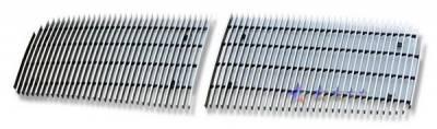 Grilles - Custom Fit Grilles - APS - Dodge Dakota APS Billet Grille - 34 Bar - Upper - Aluminum - D66471V