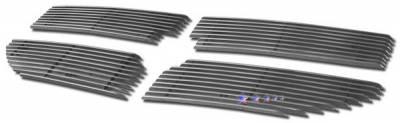 Grilles - Custom Fit Grilles - APS - Dodge Caliber APS Billet Grille - Upper - Aluminum - D66472A