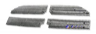 Grilles - Custom Fit Grilles - APS - Dodge Caliber APS Billet Grille - Upper - Aluminum - D66472V