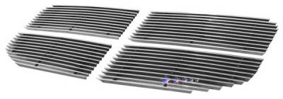 Grilles - Custom Fit Grilles - APS - Dodge Nitro APS Billet Grille - Upper - Aluminum - D66473A