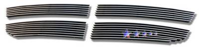Grilles - Custom Fit Grilles - APS - Dodge Avenger APS Billet Grille - Upper - Aluminum - D66518A