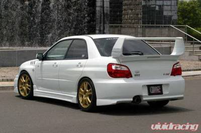 Impreza - Rear Bumper - Chargespeed - Subaru Impreza Chargespeed Peanut Type-1 Rear Bumper - CS977RB1