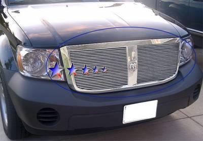 Grilles - Custom Fit Grilles - APS - Dodge Durango APS Billet Grille - Upper - Aluminum - D66528A