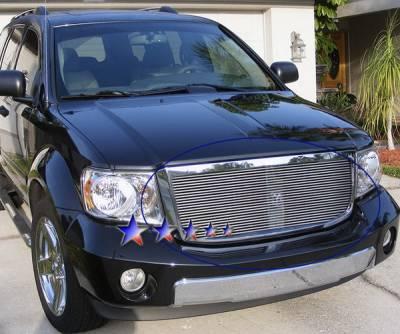 Grilles - Custom Fit Grilles - APS - Dodge Durango APS Billet Grille - Upper - Aluminum - D66529A