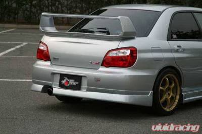 Impreza - Rear Add On - Chargespeed - Subaru Impreza Chargespeed Peanut Eye Latter Rear Skirt - CS977RS