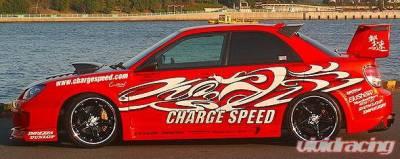 Impreza - Side Skirts - Chargespeed - Subaru Impreza Chargespeed Wide Body Super GT Side Skirts - Pair - CS977SSW