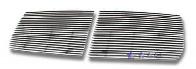 Grilles - Custom Fit Grilles - APS - Dodge Dakota APS Billet Grille - Upper - Aluminum - D66532A