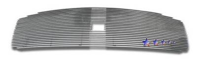 Grilles - Custom Fit Grilles - APS - Dodge Durango APS Billet Grille - with Logo Opening - Upper - Aluminum - D66534A