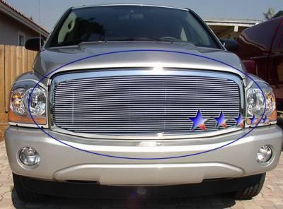 Grilles - Custom Fit Grilles - APS - Dodge Durango APS Billet Grille - Upper - Aluminum - D66535A