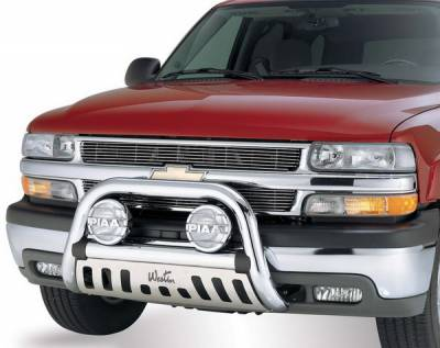 Grilles - Grille Guard - Westin - Chevrolet C1500 Pickup Westin Ultimate Bull Bar - 32-0080