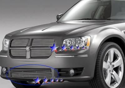 Grilles - Custom Fit Grilles - APS - Dodge Magnum APS Billet Grille - Bumper - Aluminum - D66572A