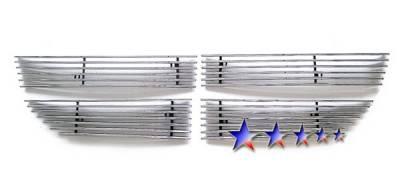 Grilles - Custom Fit Grilles - APS - Dodge Journey APS Billet Grille - Upper - Stainless Steel - D66609S