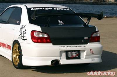 Impreza - Body Kit Accessories - Chargespeed - Subaru Impreza Chargespeed Round Eye Rear Skirt - CS978RS