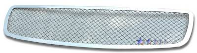 Grilles - Custom Fit Grilles - APS - Dodge Charger APS Wire Mesh Grille - 1PC - Upper - Stainless Steel - D75320S