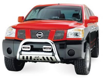 Grilles - Grille Guard - Westin - Nissan Armada Westin Ultimate Bull Bar - 32-1480
