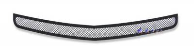 Grilles - Custom Fit Grilles - APS - Dodge Charger APS Black Wire Mesh Grille - Bumper - Stainless Steel - D76439H