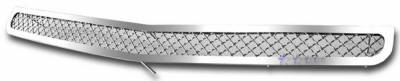 Grilles - Custom Fit Grilles - APS - Dodge Charger APS Wire Mesh Grille - Bumper - Stainless Steel - D76439S