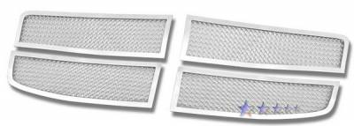 Grilles - Custom Fit Grilles - APS - Dodge Durango APS Wire Mesh Grille - Upper - Stainless Steel - D76470T