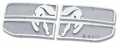 Grilles - Custom Fit Grilles - APS - Dodge Nitro APS Symbolic Grille - D76473B