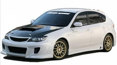 Impreza - Body Kits - Chargespeed - Subaru Impreza Chargespeed Type-1 Bumper Full Body Kit - CS979FK1N