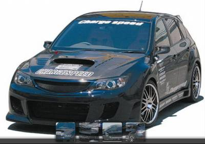 WRX - Body Kits - Chargespeed - Subaru WRX Chargespeed Type-2 Bumper Full Body Kit - CS979FK2