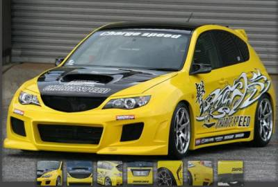 WRX - Body Kits - Chargespeed - Subaru WRX Chargespeed Widebody Full Body Kit with Washer Holes - CS979FKW