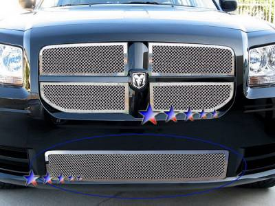 Grilles - Custom Fit Grilles - APS - Dodge Magnum APS Wire Mesh Grille - Bumper - Stainless Steel - D76572T