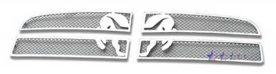 Grilles - Custom Fit Grilles - APS - Dodge Charger APS Symbolic Grille - D76589B