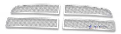 Grilles - Custom Fit Grilles - APS - Dodge Charger APS Wire Mesh Grille - Bar Style - Upper - Stainless Steel - D76589T