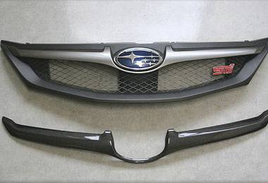 Grilles - Custom Fit Grilles - Chargespeed - Subaru WRX Chargespeed Front Grille Finisher - CS979GRFC