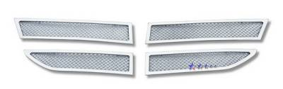 Grilles - Custom Fit Grilles - APS - Dodge Journey APS Wire Mesh Grille - Upper - Stainless Steel - D76609T