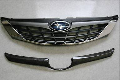 Grilles - Custom Fit Grilles - Chargespeed - Subaru Impreza Chargespeed Front Grille Finisher - CS979GRFCN