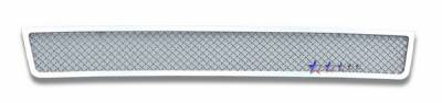 Grilles - Custom Fit Grilles - APS - Dodge Journey APS Wire Mesh Grille - Bumper - Stainless Steel - D76610T