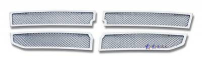 Grilles - Custom Fit Grilles - APS - Dodge Dakota APS Wire Mesh Grille - Upper - Stainless Steel - D76611T