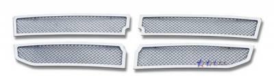 Grilles - Custom Fit Grilles - APS - Dodge Dakota APS Wire Mesh Grille - Upper - Stainless Steel - D76611T