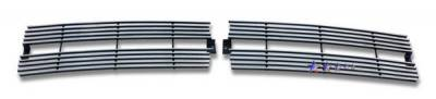 Grilles - Custom Fit Grilles - APS - Dodge Ram APS Billet Grille - Upper - Stainless Steel - D85030S