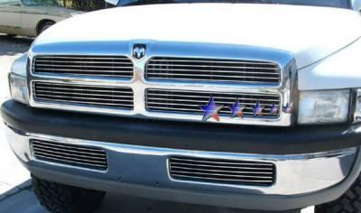 Grilles - Custom Fit Grilles - APS - Dodge Ram APS Billet Grille - Bumper - Stainless Steel - D85035S