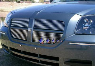 Grilles - Custom Fit Grilles - APS - Dodge Magnum APS Billet Grille - Upper - Aluminum - D85037A