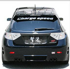 WRX - Rear Bumper - Chargespeed - Subaru WRX Chargespeed Type-2 Rear Bumper - CS979RB2