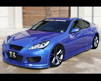 Genesis - Body Kits - Chargespeed - Hyundai Genesis Chargespeed Full Body Kit - CS996FK
