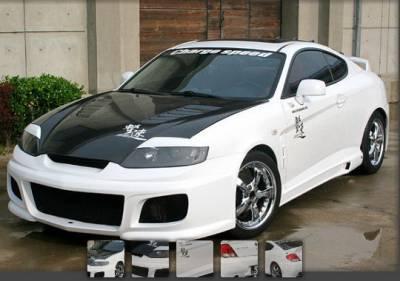 Tiburon - Body Kits - Chargespeed - Hyundai Tiburon Chargespeed Full Body Kit - CS997FK